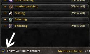 show offline members